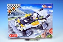 Stavebnice BanBao Auto RC na baterie 165ks + 1 figurka v krabici 37,5x28,5x6,5cm - Rock David