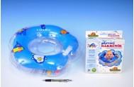 Plavací nákrčník Flipper modrý v krabici od 0 měsíců