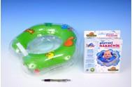 Plavací nákrčník Flipper zelený v krabici od 0 měsíců