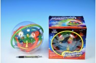Magický míč/koule hlavolam plast 20cm v krabici