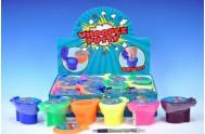 Sliz - hmota záchod prdící asst 6 barev 12ks v boxu