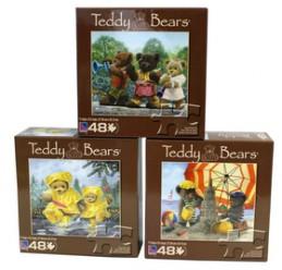 Puzzle dětské 48 dílků, Medvídek - Chabon Michael