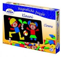 Magnetické puzzle Klauni - Chabon Michael
