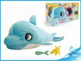 Delfín Blu Blu 60cm plyšový na baterie se zvukem - Chabon Michael