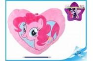 """Taška na pyžamo/polštářek plyšový 40x30cm """"My Little Pony"""" 2druhy"""