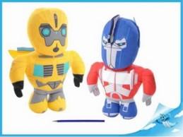 Robot Transformers 35cm látkový 2druhy 0m+ - Chabon Michael