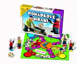 Společenská hra - Pohádkové hraní Pat a Mat - neuveden
