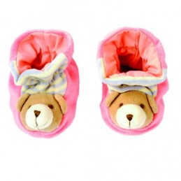 Botičky s medvídkem, růžové - Hawkins David R.