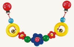 Řetěz do kočárku - kytka - Flora - Hawkins David R.