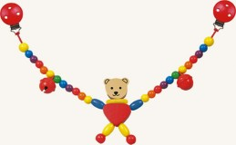 Řetěz do kočárku - medvěd - Cara - Hawkins David R.