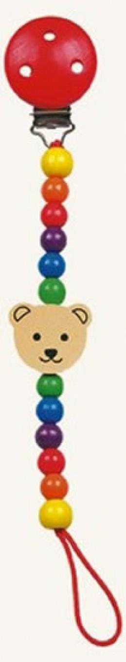 Šnůra na dudlík - medvěd - Pippa - Hawkins David R.