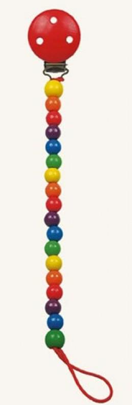 Šnůra na dudlík - korálky - Colori - Hawkins David R.