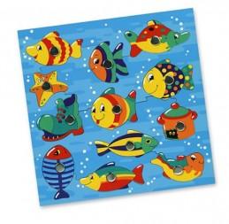 Rybičky ve vodě, magnetická hra, s udičkou - Hawkins David R.
