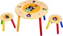 Dětský stolek, 2 sedátka, Krteček - Hawkins David R.