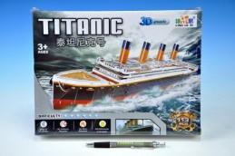 Skládanka Puzzle 3D Titanic 113 dílků v krabici - Rock David