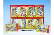 A-085214-B Minipuzzle Pohádky 80 dílků 23x16,5cm asst 8 druhů v krabičce