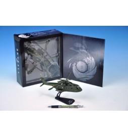 Vrtulník Helikoptéra Skyfall James Bond plast 22cm v krabici