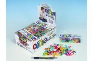 Céčka barevná různé tvary 100ks v sáčku 24ks v boxu