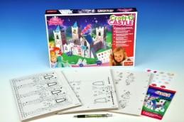 Princeznin Pohádkový zámek kreativní sada v krabici - Rock David