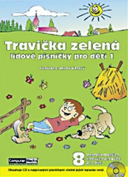 Travička zelená - Lidové písničky pro děti 1. + CD