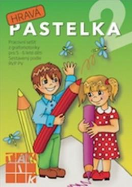 Hravá pastelka 2 - Pracovní sešit z grafomotoriky pro 5 - 6 leté děti