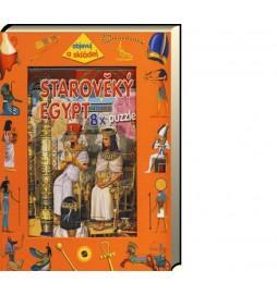 Starověký Egypt - 8 x puzzle