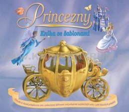 Princezny - kniha se šablonami