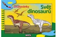 Svět dinosaurů - didaktické omalovánky