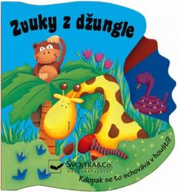 Zvuky z džungle - Kdopak se to schovává v houští?