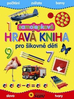 Samolepková hravá kniha pro šikovné děti