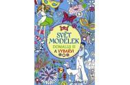 Svět modelek – Domaluj si a vybarvi