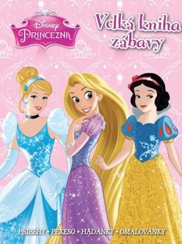 Princezny - Velká kniha zábavy • Příběhy • pexeso • hádanky • omalovánky