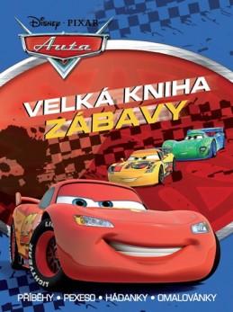 Auta - Velká kniha zábavy • Příběhy • pexeso • hádanky • omalovánky