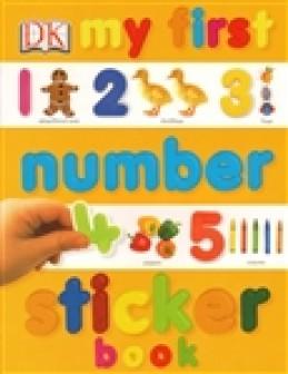 My First Number Sticker Book