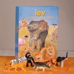 Lev a ostatní zvířata savany