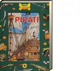Piráti - 8 x puzzle