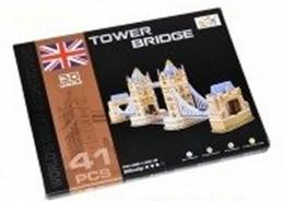 Puzzle 3D - Tower Bridge (41 dílků)