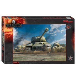 Puzzle 560 World of Tanks