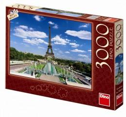 Eiffelova věž - puzzle 3000 dílků