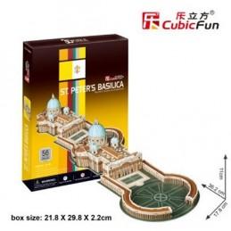 Puzzle 3D Bazilika sv. Petra - 56 dílků