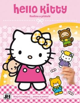Hello Kitty-Rodina-Samolepková knížka