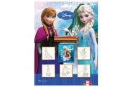 Razítka Frozen, blistr 5 ks