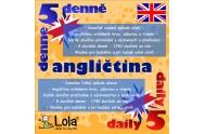 Chytré karty - Anglličtina výukový kalendář