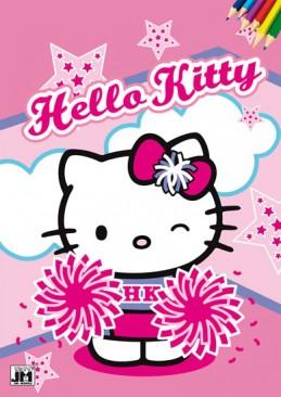 Hello Kitty - Omalovánky A4 - neuveden