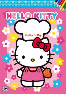 Hello Kitty 2 - Omalovánky A4 - neuveden