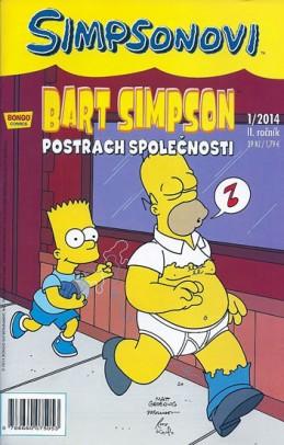 Simpsonovi - Bart Simpson 1/2014 - Postrach společnosti - Groening Matt