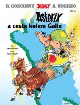 Asterix 5 - Asterix a cesta kolem Galie