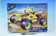 BanBao stavebnice Hi-tech buggy racing 07 zpětný chod 207ks v krabičce