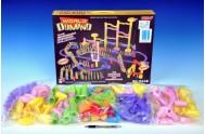 Domino s kuličkovou dráhou společenská hra 235ks v krabici