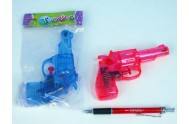 Vodní pistole 11cm; 2 barvy; v sáčku - 1 kus